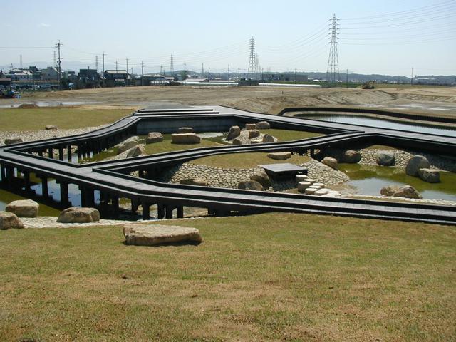 石川河川公園駒ケ谷地区東外周及び修景池整備工事